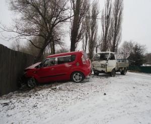 Авария в районе улицы Гоголевской