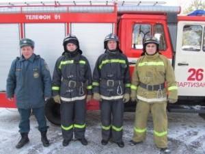 Работу пожарных высоко оценили спасатели международного класса