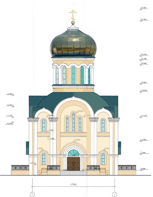 ХРАМ-западный-фасад