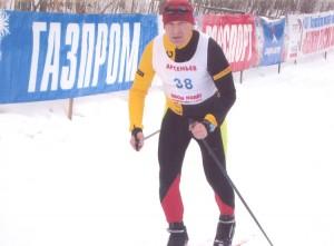 Владимир Серегин на соревнованиях в Арсеньеве