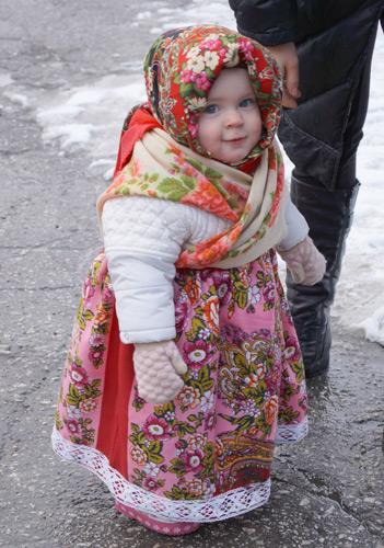 Есения - девочка весенняя