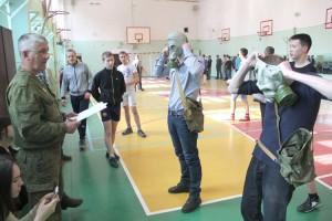 Победители соревнований - первые кандидаты в военные вузы