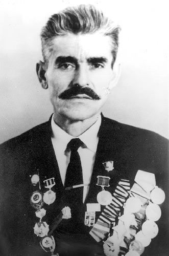 Полный кавалер ордена Славы Николай Диденко
