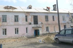 В 2015 году отремонтировано восемь домов, в этом планируют девять