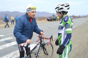 Василий Арапов на две сотых секунды отстал от мастера спорта Ионина