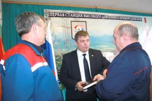 Александр Зражевский взял под контроль обозначенные на встрече проблемы