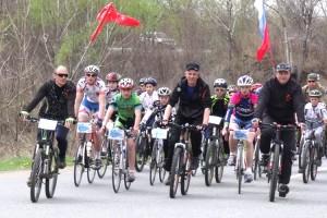 Велопробег под знаменами Победы и России