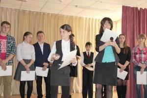 Олеся Беляева гордится тем, что учится в школе, которую окончил Анатолий Каменный