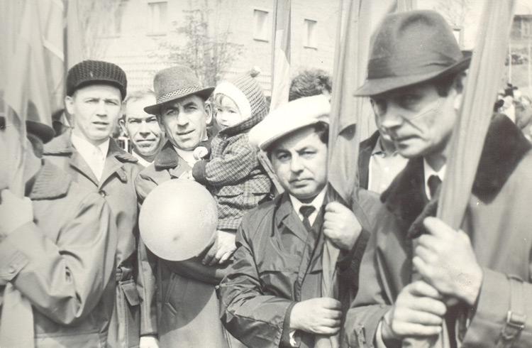 """Шахтеры """"Центральной"""". 1975 год"""
