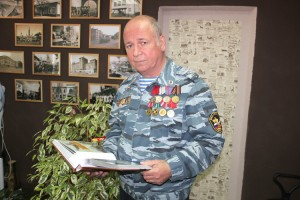 В альбоме - фото боевых товарищей из Барнаула, Курска, Томска...