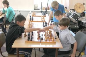 В азарте шахматной игры