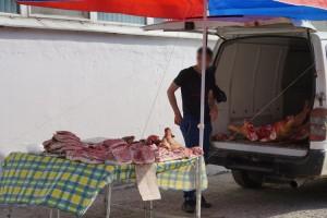 Это фото было сделано на городском рынке 19 мая, накануне проверки