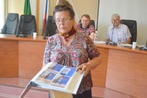 Отчет Александры Щуровой был коротким, но наглядным