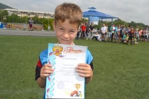 У юного футболиста Кирилла Сапрыкина впереди немало наград