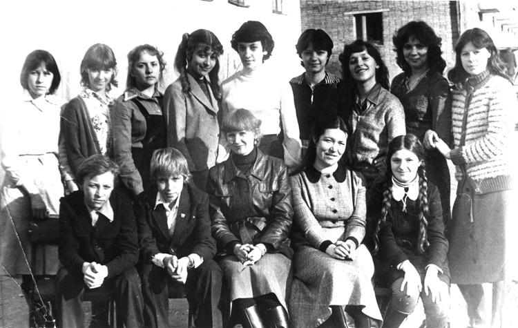 Второй выпуск художественной школы. 1982 год