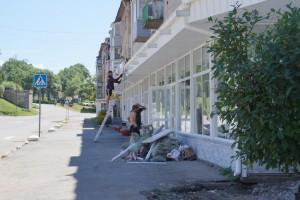 К концу августа здесь обновится не только фасад, но и тротуар