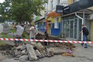 В День города партизанцы будут гулять по новому тротуару