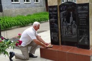 """Первый в Приморье памятник """"Детям войны"""" открыли в Партизанске"""