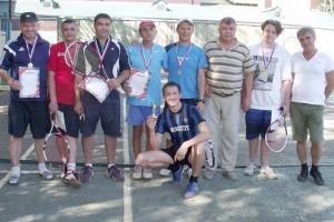 Участники турнира по большому тенису