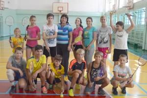 Юные бадминтонисты в отличном настроении и готовы к новым победам