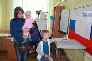 На выборы - дружной семьей