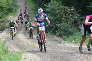 Велогонщики из Партизанска по-прежнему в лидерах