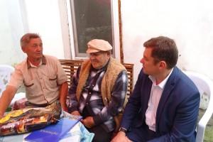 В гостях у шахтера и поэта Вячеслава Спиридонова