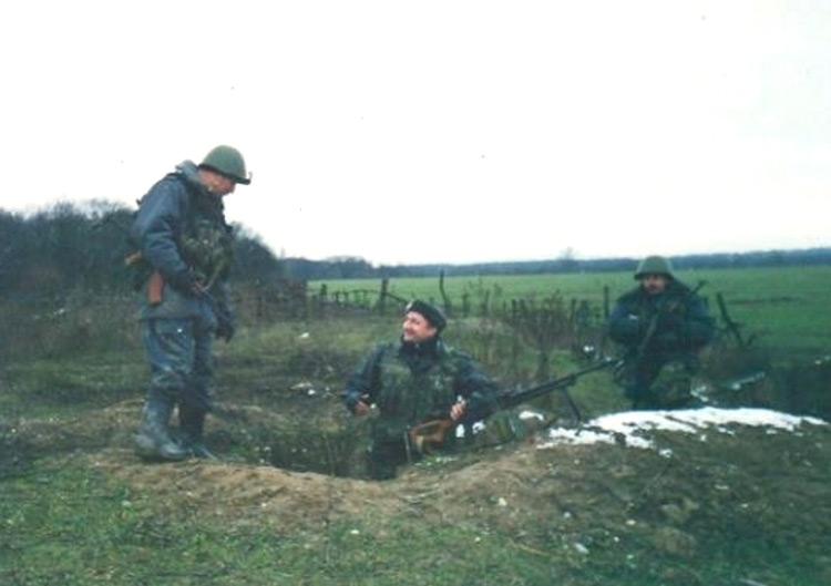 Командировка в Чечню. Гудермес, 2000 год