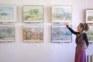 Большая часть работ Елены Шлык посвящена Партизанску