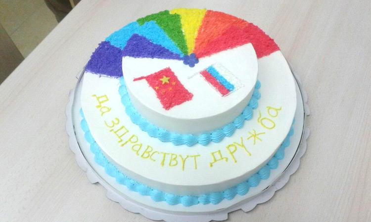 Торт от китайских кондитеров