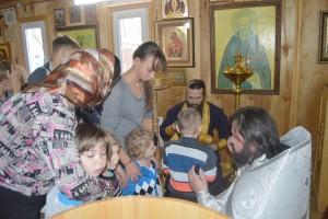Отец Силуан и игумен Варнава Литвин стали крестными отцами  для ребят из детского дома