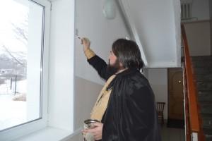 Отец Силуан освятил все помещения детской больницы