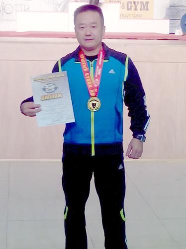 Владимир Хан стал победителем в своей весовой категории