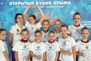 Домой партизанские синхронистки вернулись медалистками
