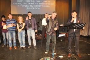 Благотворительную акцию поддержали рок-музыканты