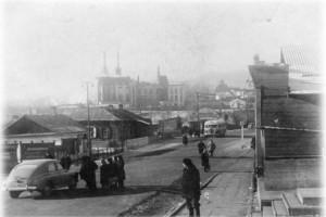 Фото из брошюры - улица Замараева в конце 40-х годов ХХ века