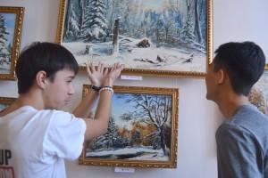 Студента Владислава Пилюка впечатлила сцена охоты на медведя
