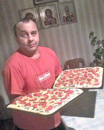2015 год. Первая пицца после войны