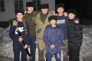 Кубанки для юных казаков шили по спецзаказу
