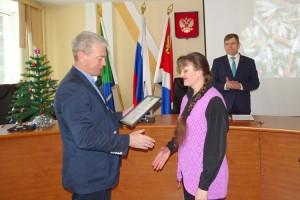 Благодарность от губернатора сотруднику музея Наталье Сафиной