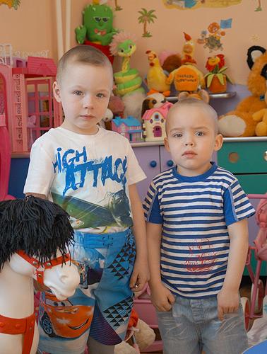 Братишки Андрей и Максим