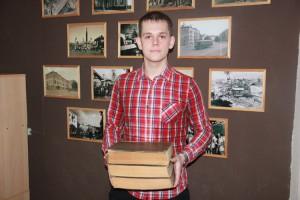 Юный исcледователь Андрей Горшков