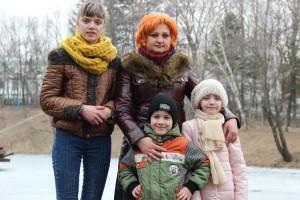 Домашние дети семьи Кирийчук