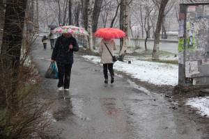 Апрельский снег недолговечен
