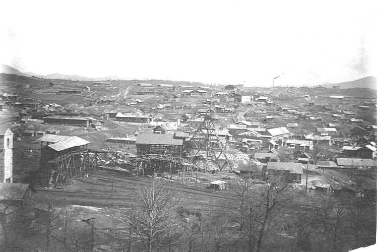 Центр Сучана. 1930 г.