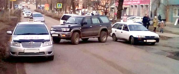 ДТП на улице Ленинской