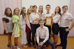 «Ученик года – 2017» Альберт Симонян с группой поддержки