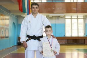 Семилетний Иван Васюк во всем равняется на наставника Ивана Касеку