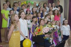В объединении Людмилы Андреевой занимаются более семидесяти детей