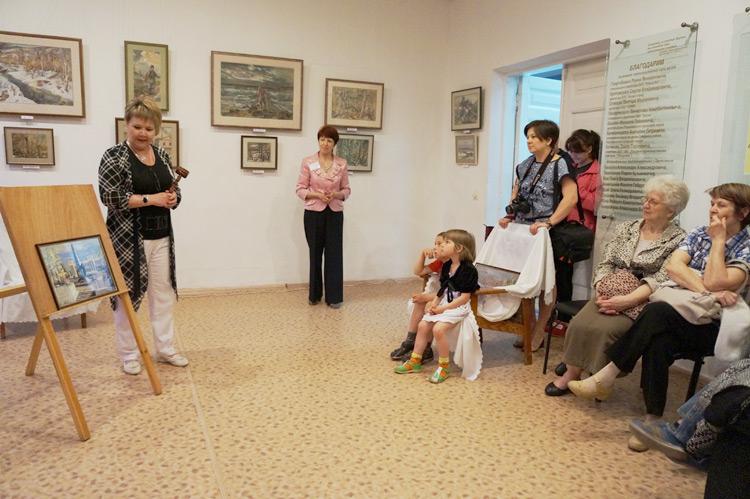 Впервые в музее прошел аукцион фотокопий картин Палшкова